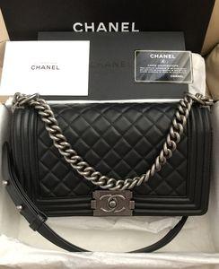 Authentic 2020 Chanel Le Boy Flap Calfskin